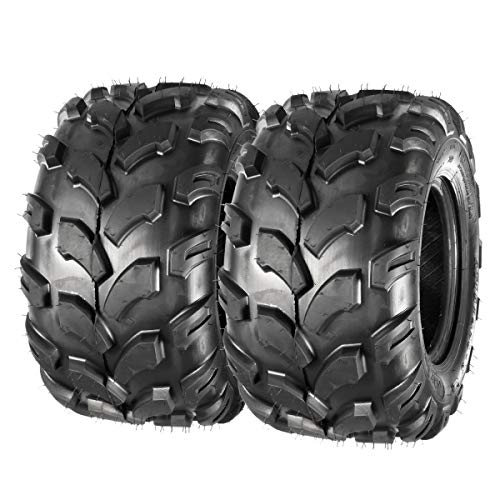 MaxAuto 2PCS Sport ATV Tires 18x9.5-8 18x9.50x8 Lawn Mower Off-Road ATV UTV Tire 4PR Turf Tires Mud Sand Trial Tires P311