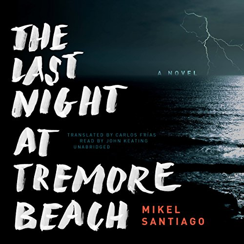 The Last Night at Tremore Beach audiobook cover art