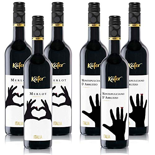 Käfer Weinpaket Rotwein Italien (6x 0,75 l)
