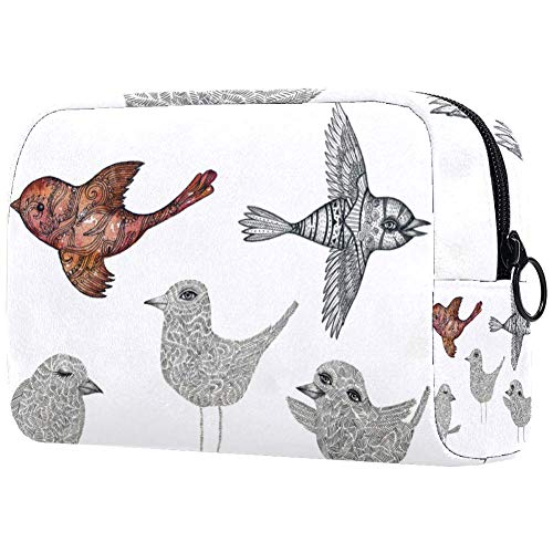 Six Birds Travel Toiletry Bag Bag Easy Organization for Men or Women