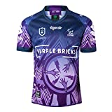 Rugby Jersey, 2019 Camisa Melbourne héroe Edición de Rugby, fútbol Ventilador Transpirable de Manga Corta Deporte Top Camiseta cómoda Copa del Mundo Masculina (S-XXX XL