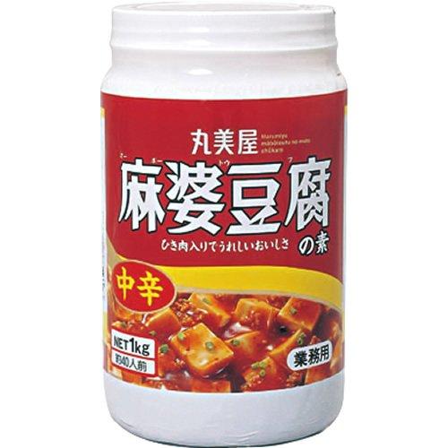 丸美屋 麻婆豆腐の素中辛 ポリ容器入り 業務用 1kg