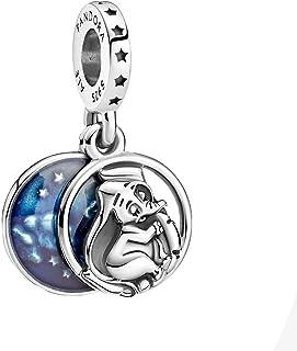PANDORA Disney Dumbo Sweet Dreams Dangle 925 Sterling Silver Charm - 799405C01