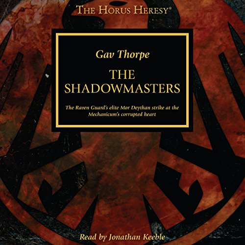 The Shadowmasters audiobook cover art