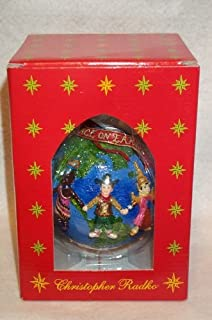 Christopher Radko - United for Peace, Year 2000 Hanging Ornament