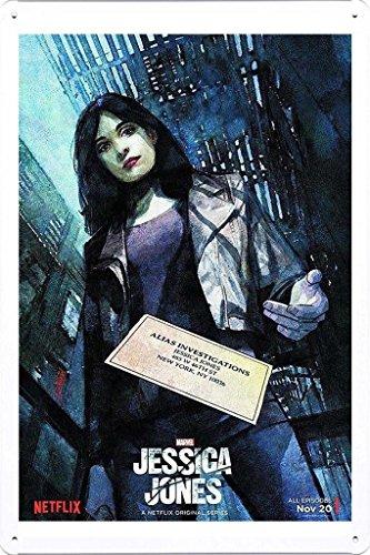Placa de latão de metal TV Drama Pôster (A-TVS02395) Decoração de parede 20,32 x 30,48 cm Arte por Ham Poster