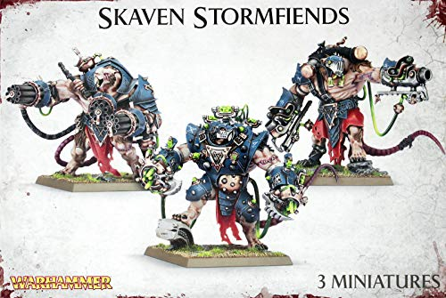 Games Workshop Warhammer Skaven Stormfiends