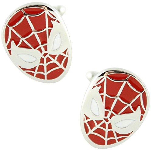 MasGemelos - Gemelli Spiderman Cufflinks