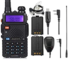 This radio is ideal for short-distance communication. It is simple, economical and practical. High/ Mid/Low Power (8W/4W/1W),Dual band / dual display / dual standby,AUTO Keypad Lock. Frequency Range: VHF: 136-174MHz (RX/TX), UHF: 400-520MHz (RX/TX), ...