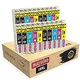 Matsuro Original | Kompatibel Tintenpatronen Ersatz für EPSON 18XL T1816 (4 Sets + 4 BK)
