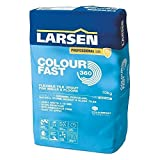 Nassboards – Larsen Colourfast 360 Tile Grout 10 kg White – Perfect for Indoor & Outdoor Grouting for Bathrooms, Patios and Home Improvement Project – Quick Drying Grouting Adhesive for Uniform Colour