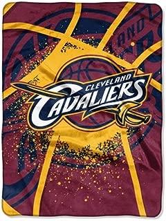Cleveland Cavaliers 60''x80'' Royal Plush Raschel Throw Blanket - Shadow Play Design