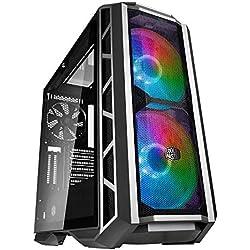Cooler Master MasterCase H500P Mesh – Case PC ARGB con Due Ventole da 200 mm Ottimo Flusso d'Aria, Pannelli Fatti per Costruttori, Predisposto per Dissipazione a Liquido