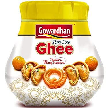 Gowardhan Pure cow Ghee clarified butter, 1Litre / 33.8 ounces