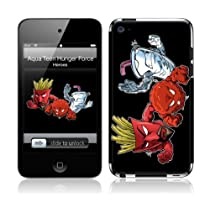 MusicSkins iPod Touch 4 用液晶保護フィルム Aqua Teen Hunger Force - Heroes iPod Touch 4 MSIP4G0067