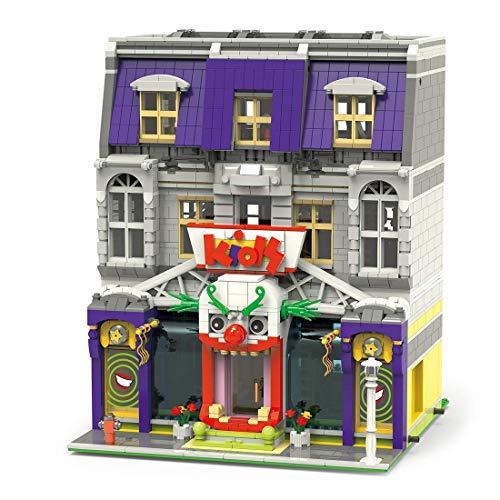 YQRX Modelo de Bloques de construcción de Arquitectura, 3229pcs Moc Joker Park City House Street View Townhouse Tienda de Juguetes Juego de Edificios modulares Compatible con Lego
