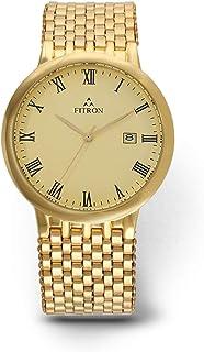 Fitron Casual Watch for Men, Quartz, FT8477M010101