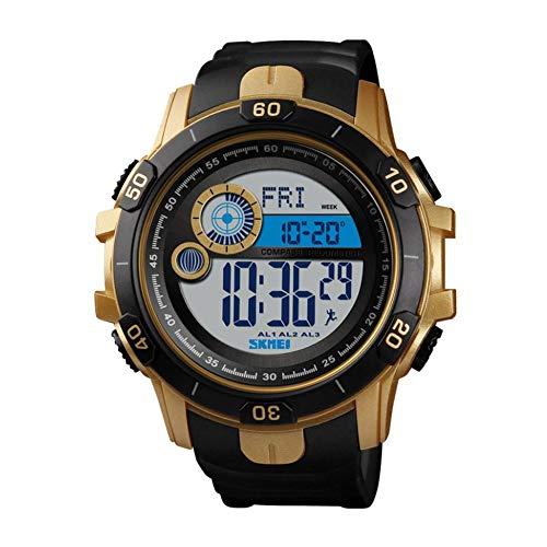 Juman634 Smartwatch para Hombres Reloj multifunción Deportivo de Moda Reloj electrónico Contador...