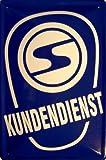 Trabant Trabi Kundendienst Logo DDR Blechschild 20 x 30 cm