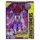Transformers Toys Cyberverse Ultimate Class Shockwave Figura de acción – se combina con...