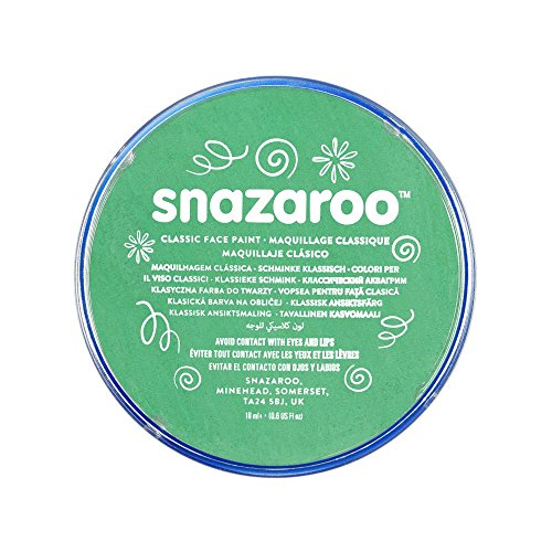 Snazaroo - 18444 - Maquillage - Galet de Fard Aquarellable - 18 ml - Vert Vif