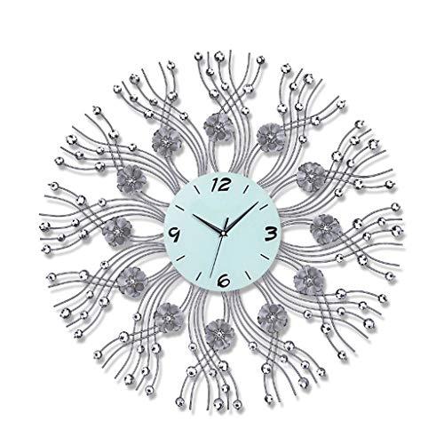 orologio da parete 70 cm diametro WPL Orologio da Parete Orologio da Parete 3D Imitazione Diamante Decorativo Orologio Diametro 70 cm Adatto per Soggiorno Camera da Letto Orologio da Parete per Interni
