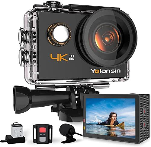 Yolansin -   Action Cam 4K 20Mp