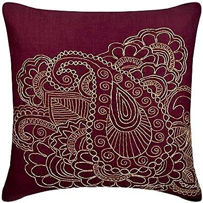 Amazon.com: Diseñador Ciruela almohada casos, araña de ...