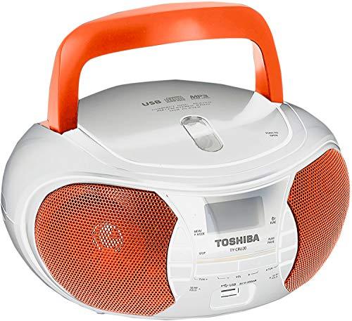 Toshiba TY-CRU20 Toshiba TY-CRU20 CD Player/Radio Orange - Orange (Pack of1)