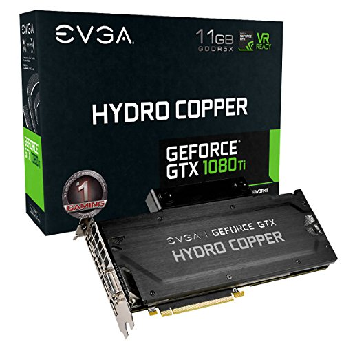EVGA GeForce GTX 1080 Ti Founders Edition Gaming Real Boost Clock: 1556 MHz