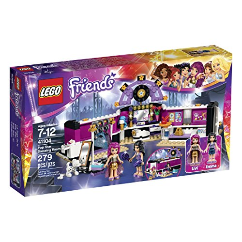 LEGO Friends 41104 Pop Star Dressing Room Building Kit by LEGO