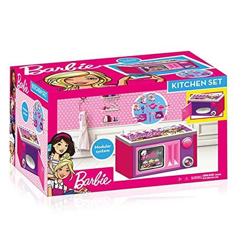 Barbie Kids Microwave Playset