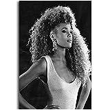 Posters Whitney Houston Super Music Star Kunst Malerei