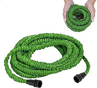 Incredible Expanding Magic Hose, 100 Feet With Sprayer Nozzle Green