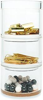 Kate Spade New York Acrylic Stackable Desk Organizer Set, Strike Gold