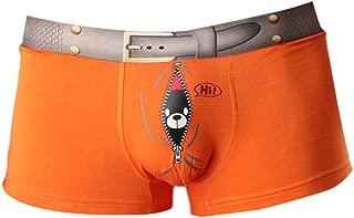 Vividda Men's Comfortable Stretch Cute Print Boxer Shorts Trunks Brief Underwear