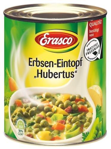Erasco Erbseneintopf Hubertus, 6er Pack (6 x 800 g Dose)