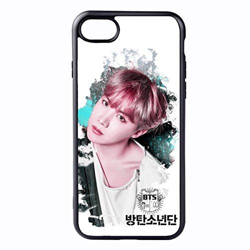 Kpop BTS Bangtan Boys Phone Case Jimin Suga Cover for iPhone X 6 6s 7 8 Plus