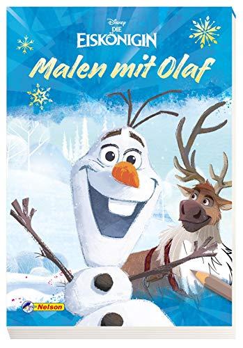 Disney Eiskönigin: Malen mit Olaf: Malblock für Olaf-Fans ab 3 Jahren
