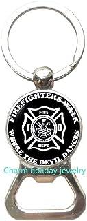 Best Gift for Firefighter,Fireman,Fire Family,Firefighter Bottle Opener Keychain,Firemen Bottle Opener Keychain,Gift for Firefighter-#349