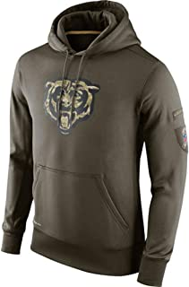 Mackiintion Men's Chicago Bears Salute to Service Player Performance Hoodie