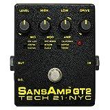 TECH21 SANSAMPギター用 チューブアンプ・シミュレーター GT2 【国内正規品】