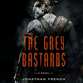 The Grey Bastards audiobook cover art