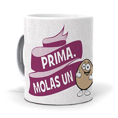 mundohuevo Taza Prima, molas un Huevo