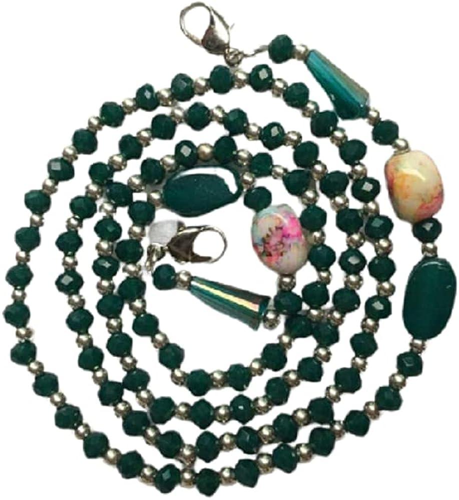 Indian handmade lanyard fashionable beaded pearl mask chain sunglass eyeglass mask chain Strap Holder Cord