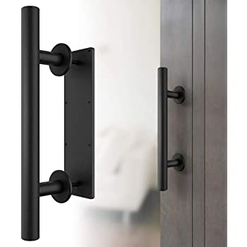 Hyhy - Tirador de puerta corredera con base cuadrada moderna para armario, cobertizos, cobertizos, cobertizos, granero, puerta, Aleación de cinc, Medium Green, 18*2.5*3.5cm: Amazon.es: Hogar