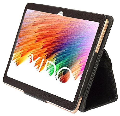Xido Custodia per Tablet PC, xido Z120/3G, X110/3G e Yuntab 3 G Tablet PC, Custodia, Sleeve, 10,1 pollici (10.1 pollici), Custodia in pelle, tasche per XIDO Tablet