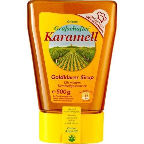 Grafschafter Karamell-Sirup Spenderflasche (1x 500 Gramm)