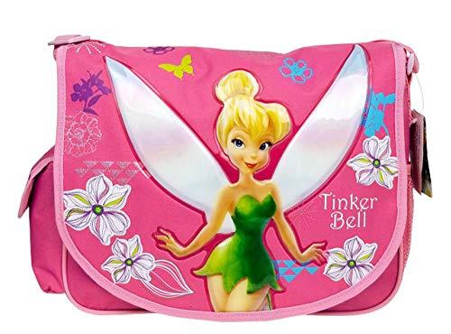 Messenger Bag–Disney–Tinkerbell–Pink New School Book Tasche A01543