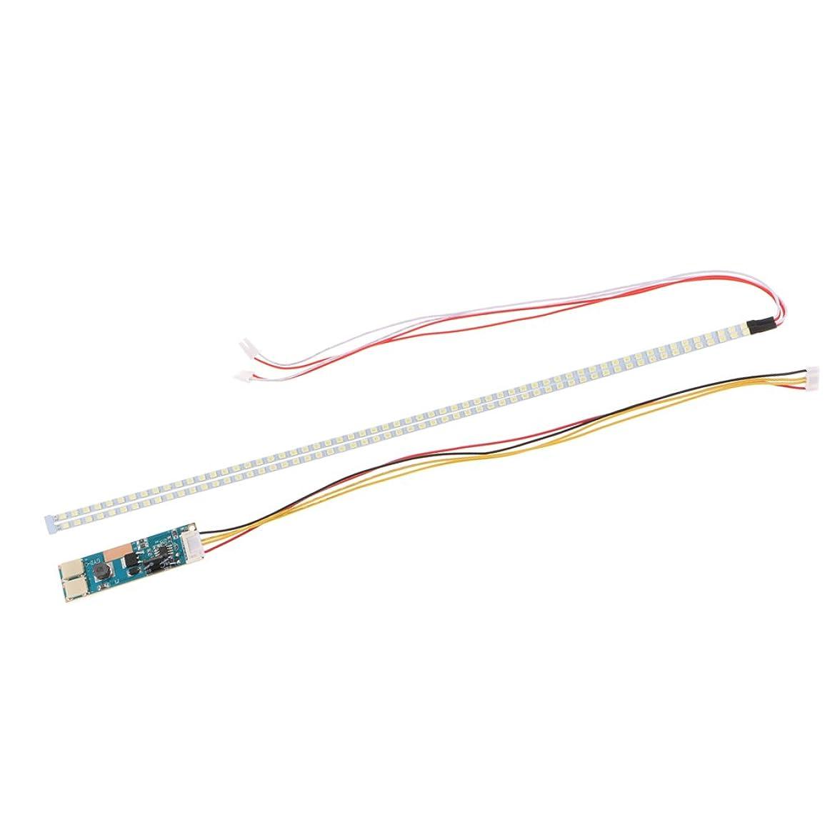 弱まる生き残りチューインガム2pcs 355mm LEDバックライト ストリップ 調整可能 CCFL 液晶モニター 19
